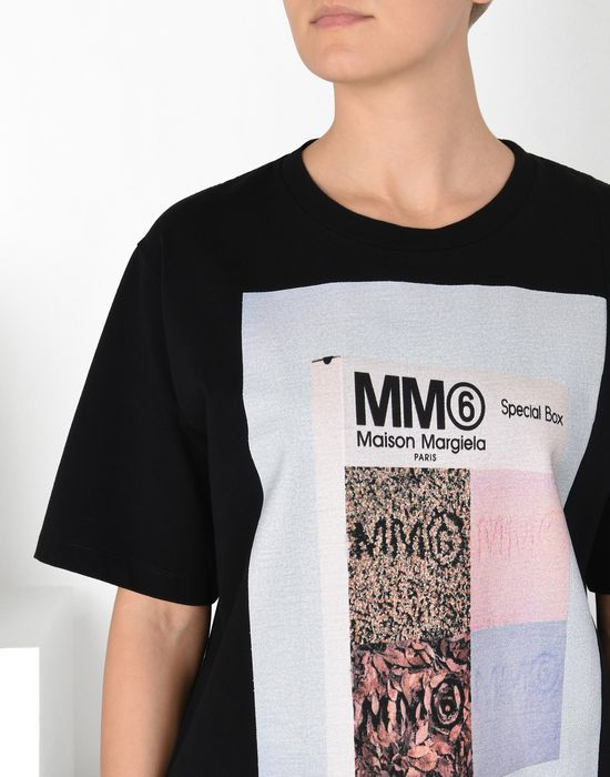 Maison Margiela Printed Cotton T Shirt Women Online