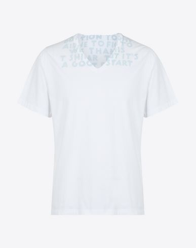 MAISON MARGIELA Short sleeve t-shirt Man Charity AIDS T-shirt f