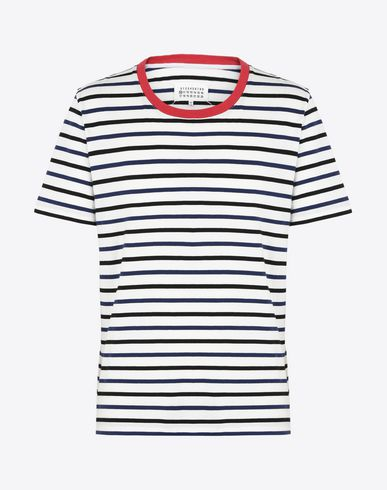 MAISON MARGIELA Short sleeve t-shirt U Pack of 3 stripe cotton t-shirts f