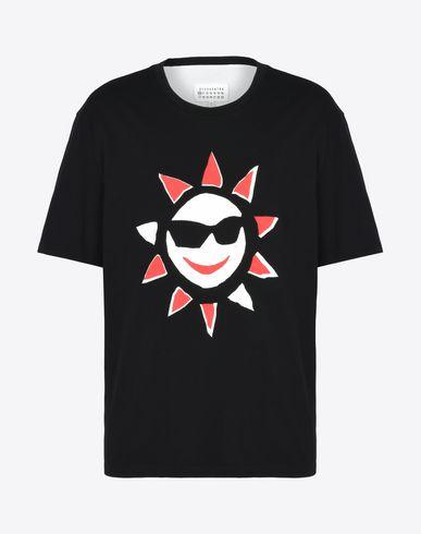 MAISON MARGIELA Short sleeve t-shirt Man Sun print T-shirt f