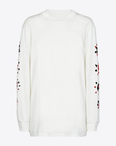 MAISON MARGIELA Long sleeve t-shirt U Printed long sleeve T-shirt f