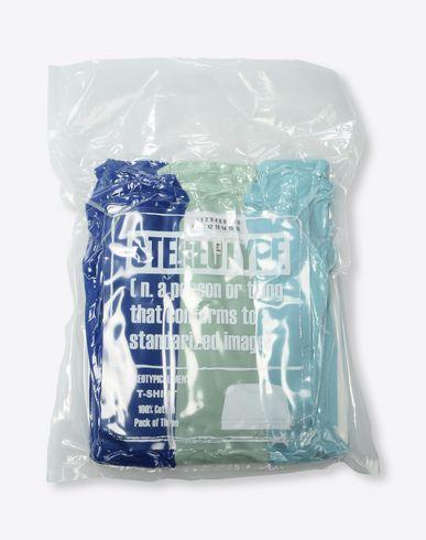 MAISON MARGIELA Pack of 3 'Stereotype' T-shirts Short sleeve t-shirt Man f