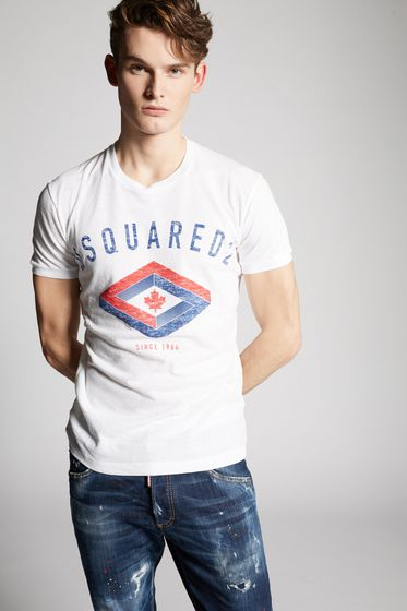 DSQUARED2 Short sleeve t-shirt Man S71GD0638S22507100 b
