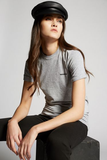 DSQUARED2 Short sleeve t-shirt Woman S75GC0861S22146857M m