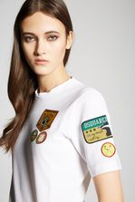DSQUARED2 Scout Patches T-Shirt Short sleeve t-shirt Woman