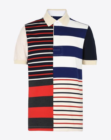 MAISON MARGIELA Polo shirt U Stripe jersey polo shirt f