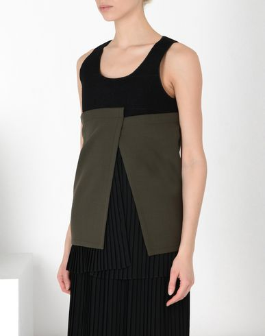 MM6 MAISON MARGIELA Top D Layered bustier top f