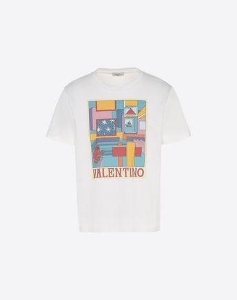 VALENTINO UOMO Camiseta U Camiseta con estampado Space f