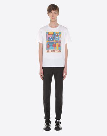 VALENTINO UOMO Camiseta U PV0MG10V3LE A01 r