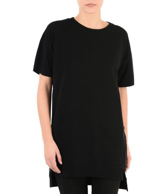 NAPAPIJRI SENDAI WOMAN SHORT SLEEVE T-SHIRT,BLACK