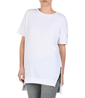 NAPAPIJRI SENDAI WOMAN SHORT SLEEVE T-SHIRT,WHITE