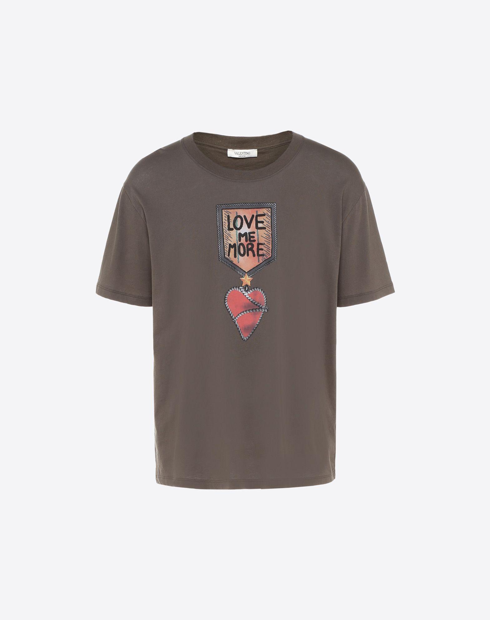 VALENTINO UOMO Military decorations T-shirt T-shirt U f