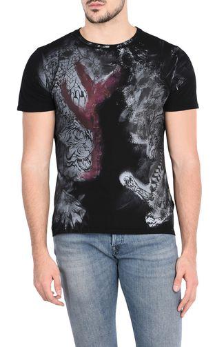 JUST CAVALLI T-shirt maniche corte U T-shirt manica corta Jacquard f