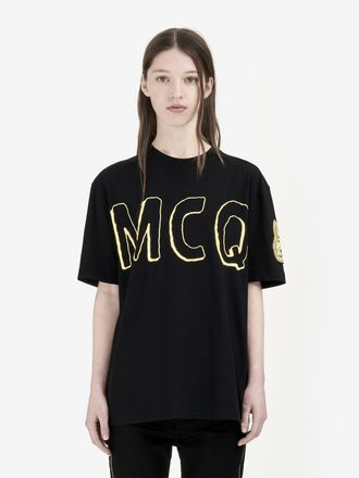 Psychedelic McQ Logo T-shirt