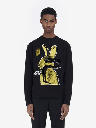 Sweat-shirt « Glitch Bunny »