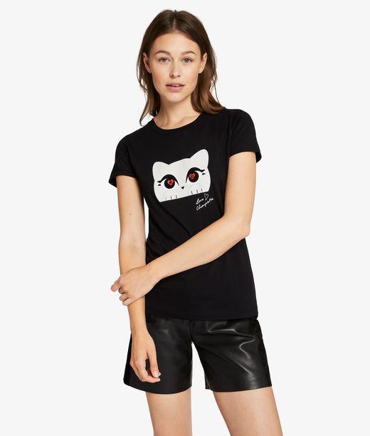 KARL LAGERFELD Choupette Love T-Shirt 12_f