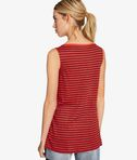 KARL LAGERFELD Karl Love Striped Linen Tank 8_d