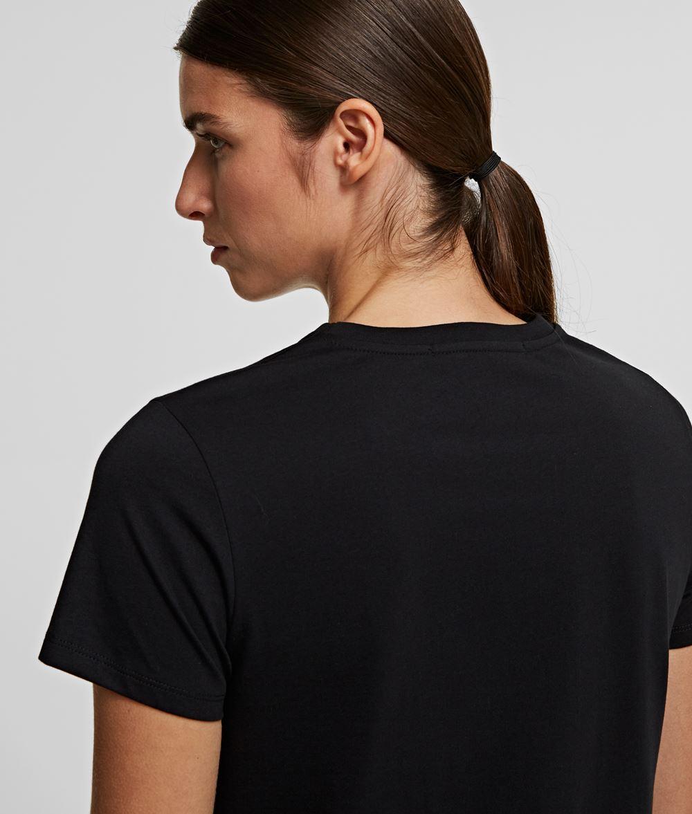 KARL LAGERFELD Karl & Choupette Ikonik T-Shirt  T-Shirt Damen d