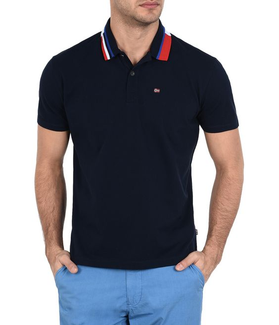 NAPAPIJRI EQIT Short sleeve polo Man f