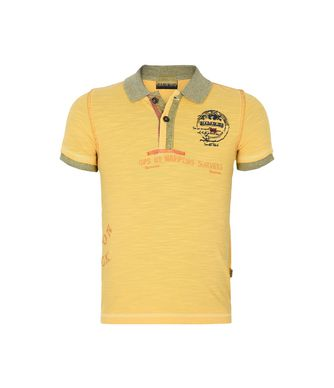 NAPAPIJRI K ERIC KID KID SHORT SLEEVE POLO,YELLOW