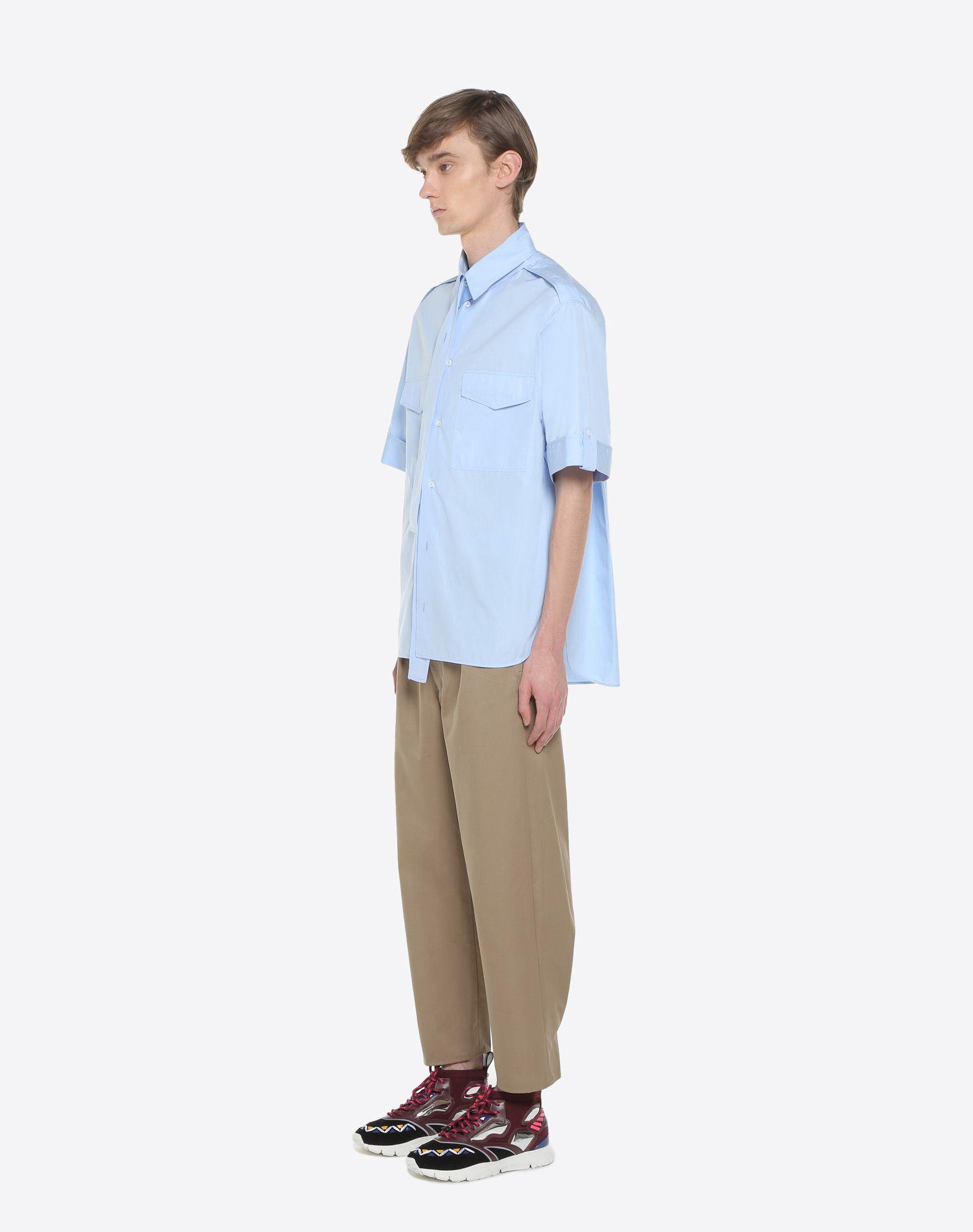 VALENTINO UOMO Short-sleeve couture shirt Shirt & blouse U d