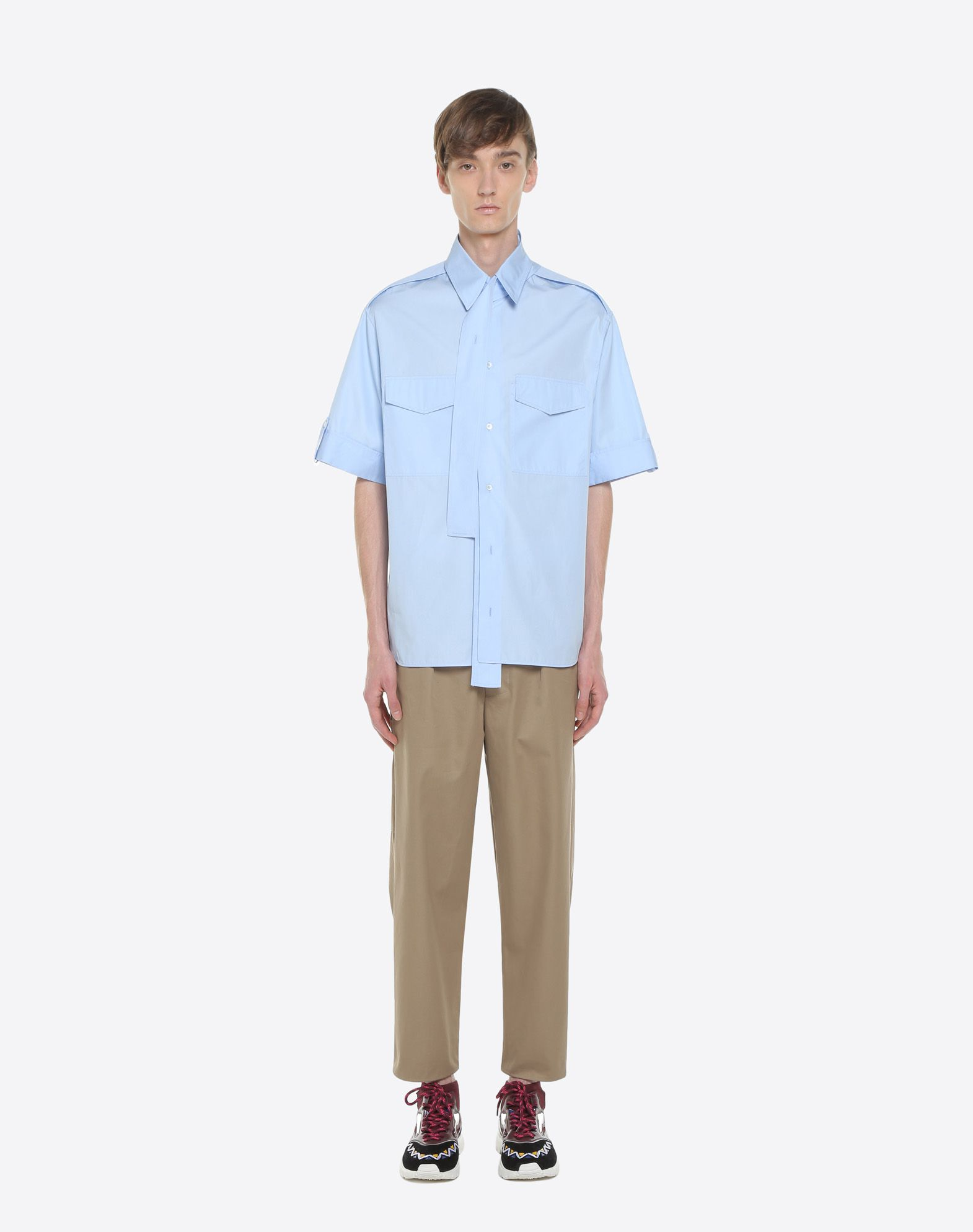 VALENTINO UOMO Short-sleeve couture shirt Shirt & blouse U r