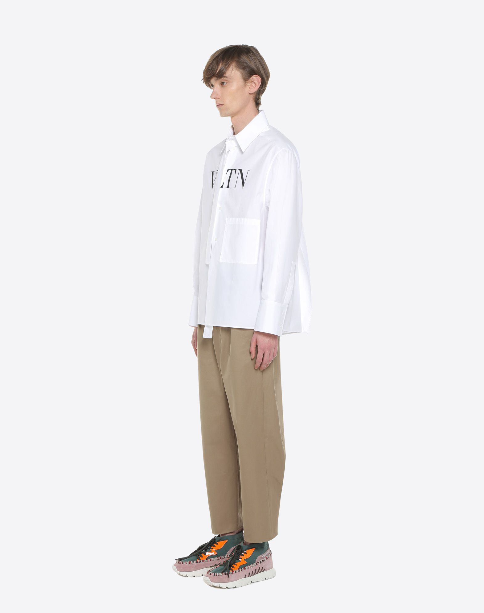VALENTINO UOMO VLTN shirt with tie collar Shirt U d