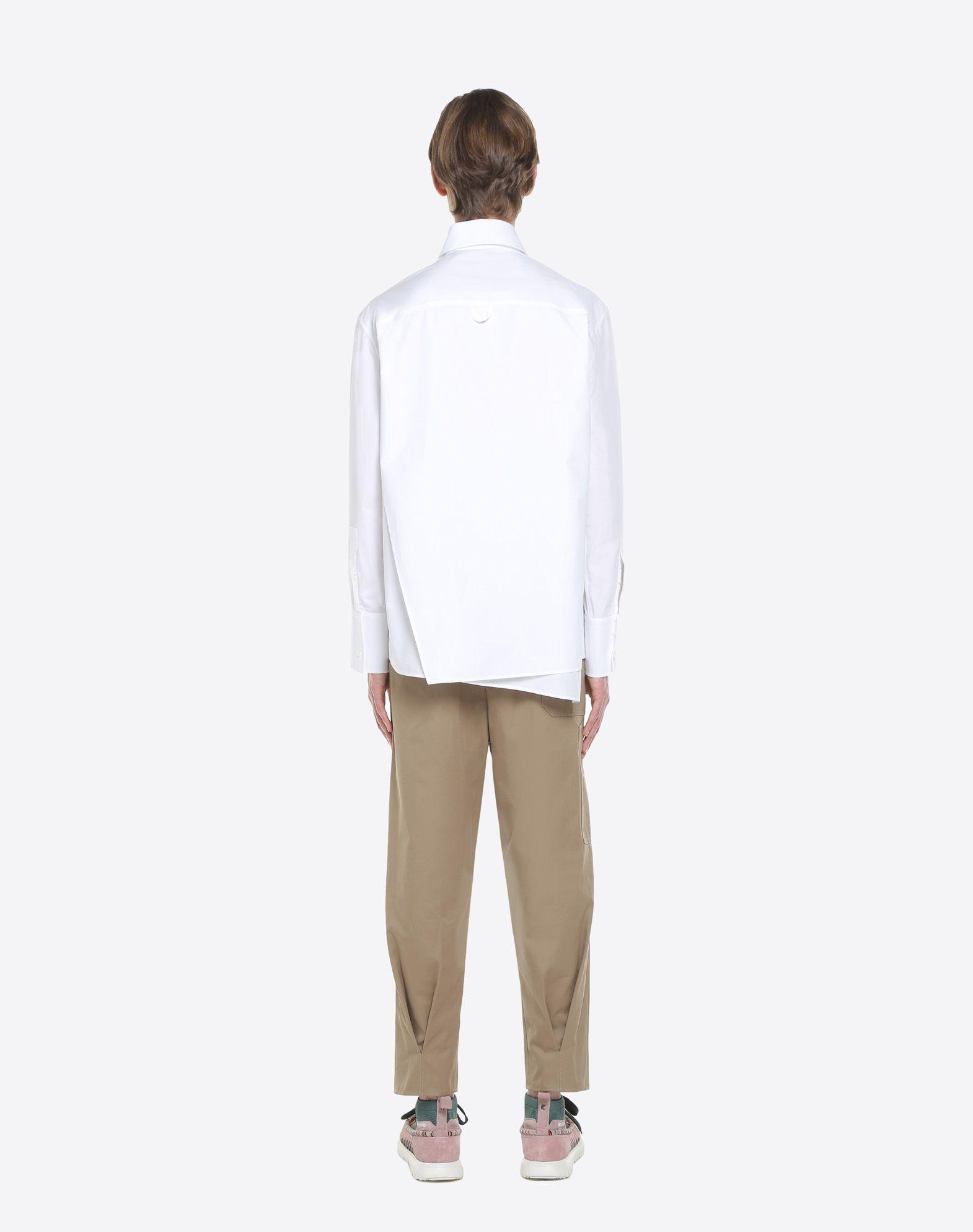 ... VALENTINO UOMO VLTN shirt with tie collar Shirt U e ...