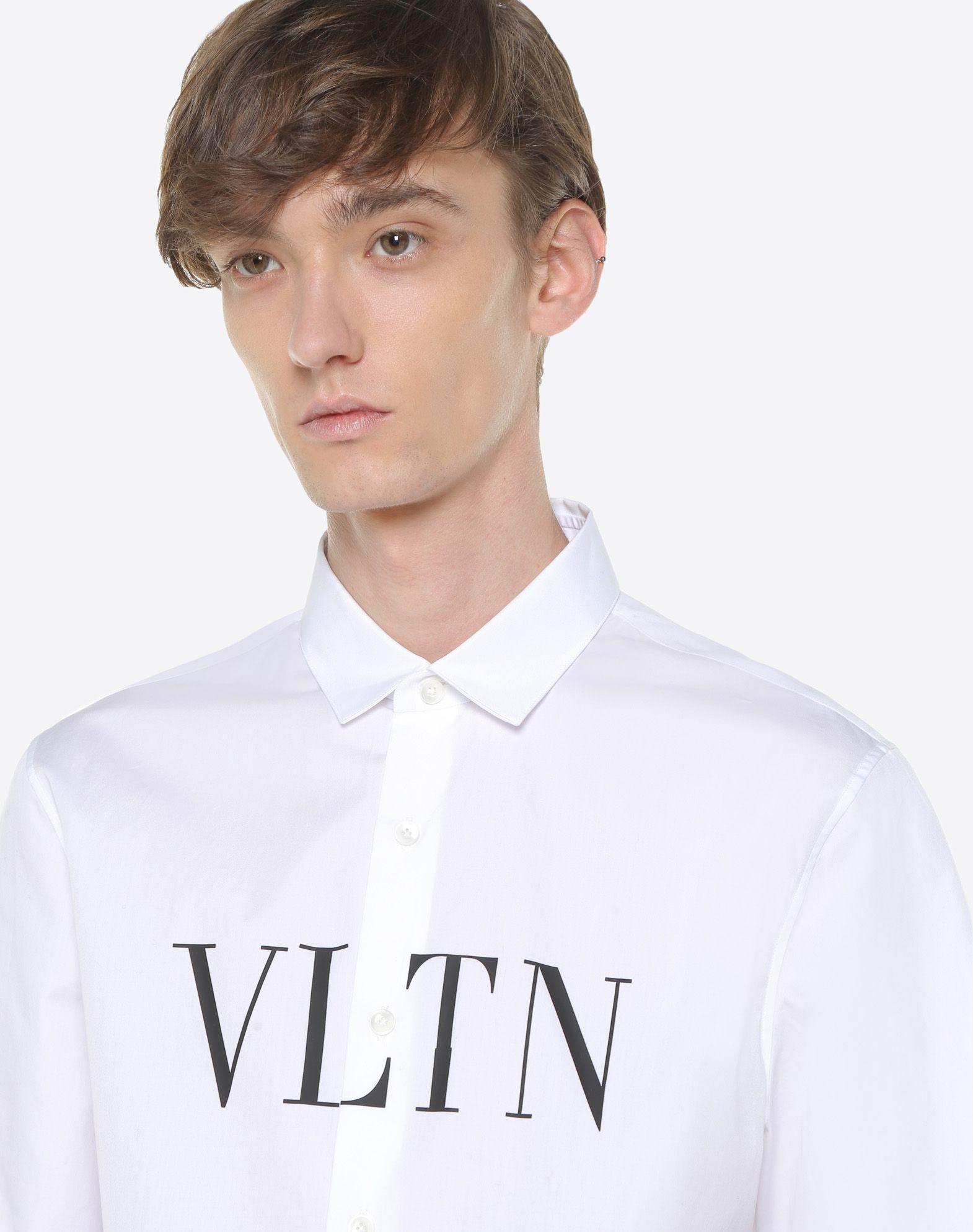 VALENTINO UOMO Short-sleeve VLTN couture shirt Shirt U a