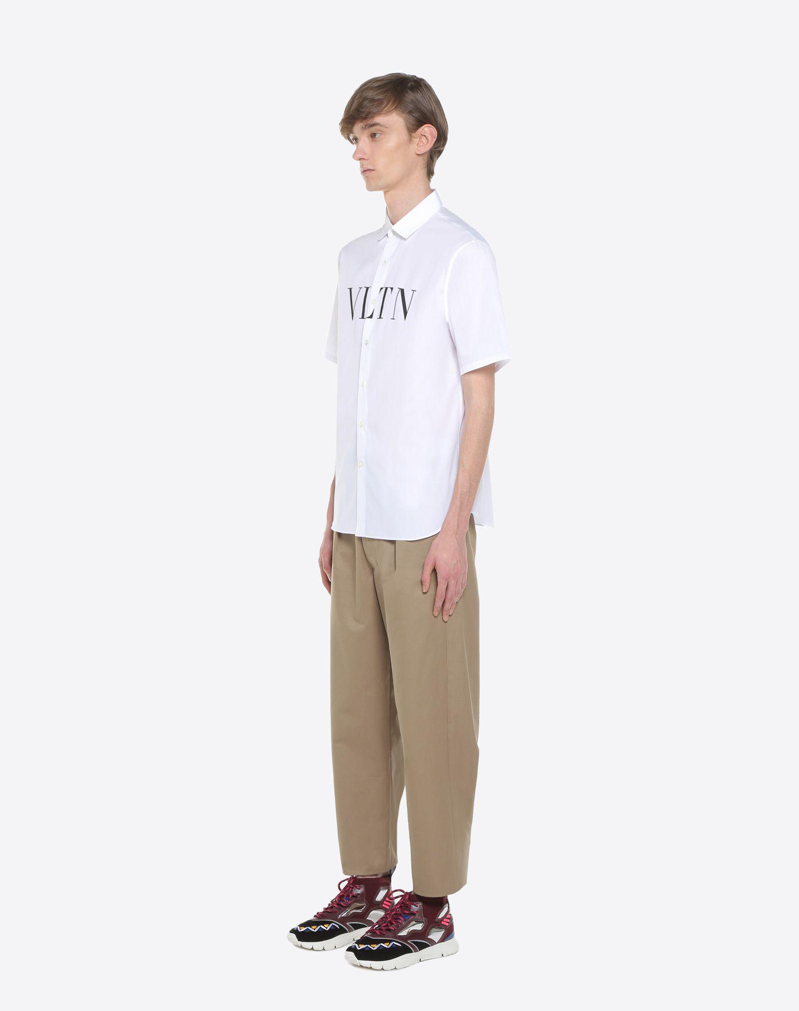 VALENTINO UOMO Short-sleeve VLTN couture shirt Shirt U d