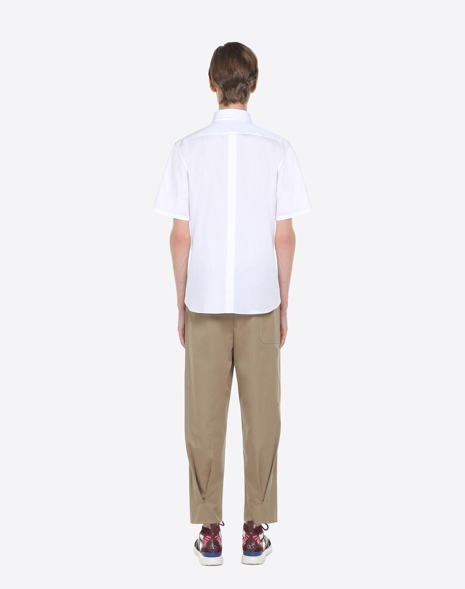 VALENTINO UOMO Short-sleeve VLTN couture shirt Shirt U e
