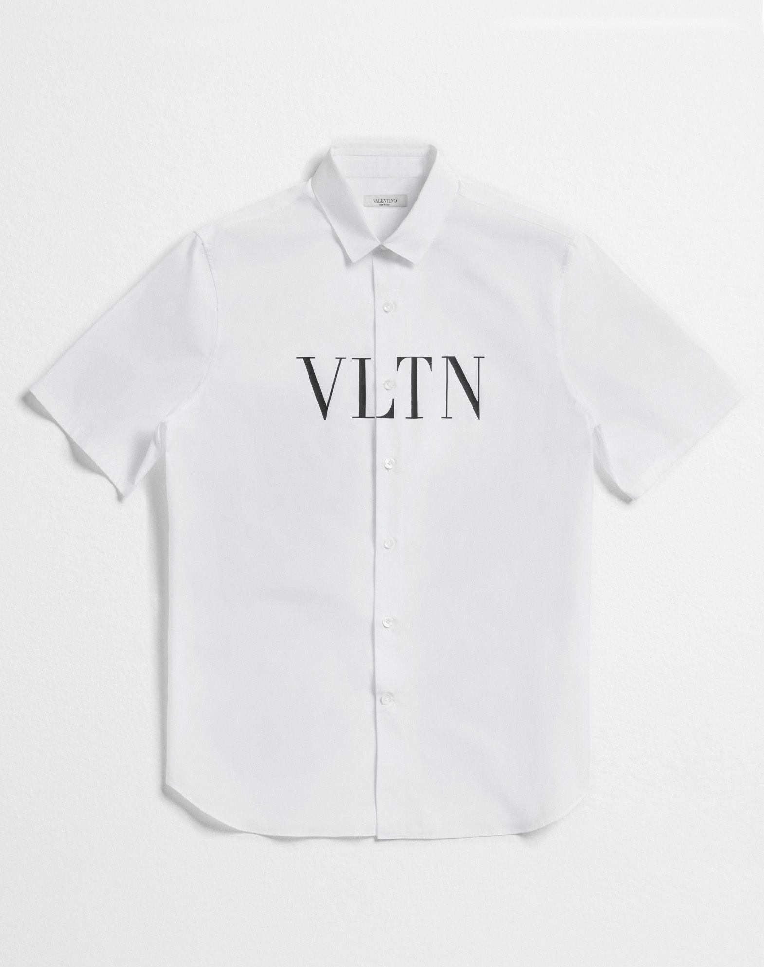 VALENTINO UOMO Short-sleeve VLTN couture shirt Shirt U l