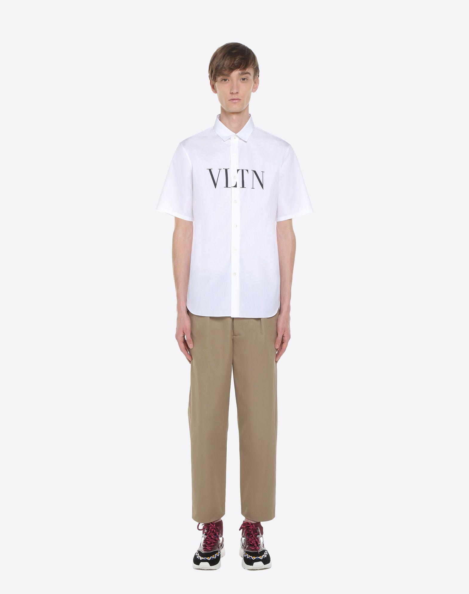 VALENTINO UOMO Short-sleeve VLTN couture shirt Shirt U r