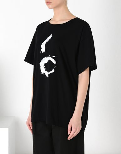 MM6 MAISON MARGIELA T-shirt manches courtes D T-shirt symbole « 6 » f