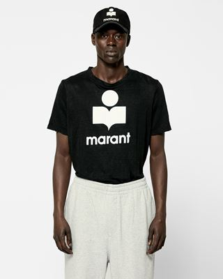ISABEL MARANT T-SHIRT Man KARMAN linen T-shirt r