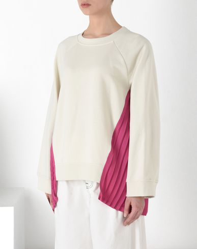 MM6 MAISON MARGIELA Sweatshirt D Sweatshirt with flounced panels f