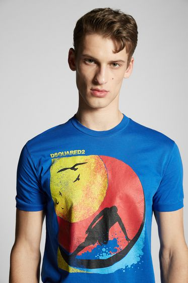 DSQUARED2 Short sleeve t-shirt Man S74GD0357S22427100 m