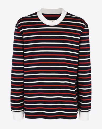 MAISON MARGIELA Long sleeve t-shirt U Stripe cotton long sleeve T-shirt f
