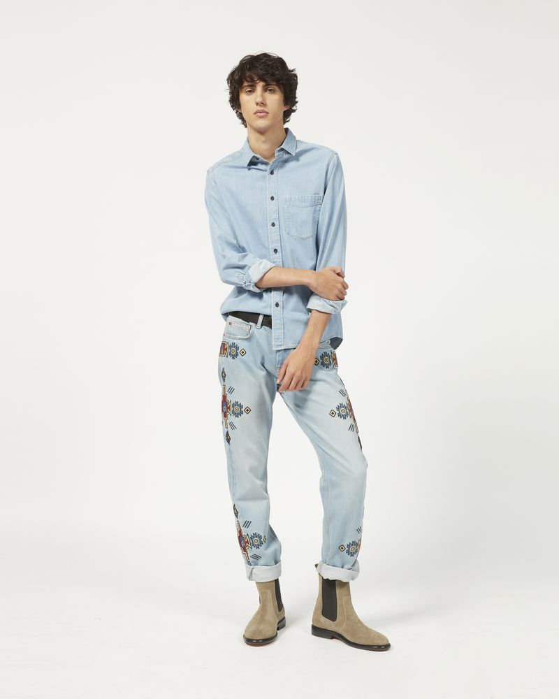 LAKO Camicia in denim ISABEL MARANT