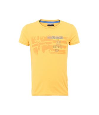 NAPAPIJRI K STOK KID KID SHORT SLEEVE T-SHIRT,YELLOW