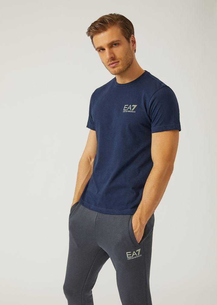 c304a11c24 Jersey T-shirt with logo | Man | Ea7