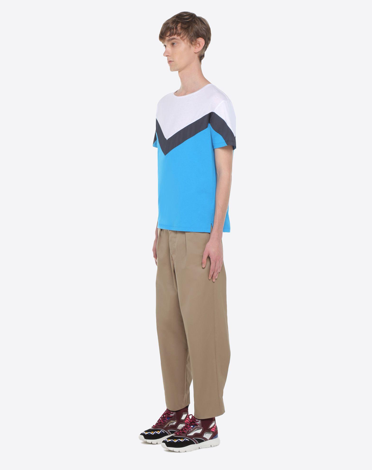 VALENTINO UOMO Camiseta con motivo geométrico Camiseta U d