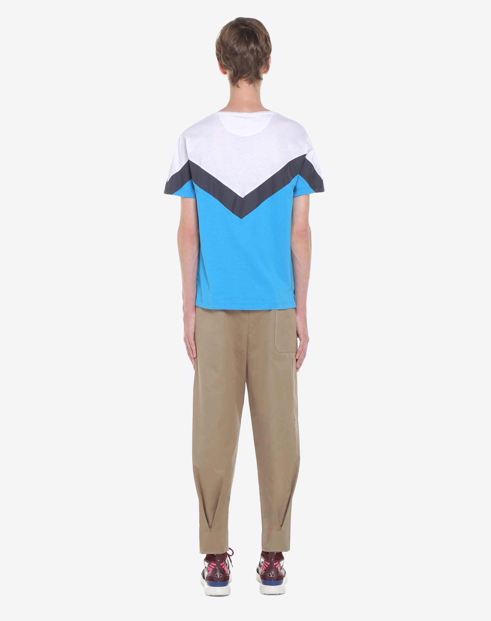 VALENTINO UOMO Camiseta con motivo geométrico Camiseta U e
