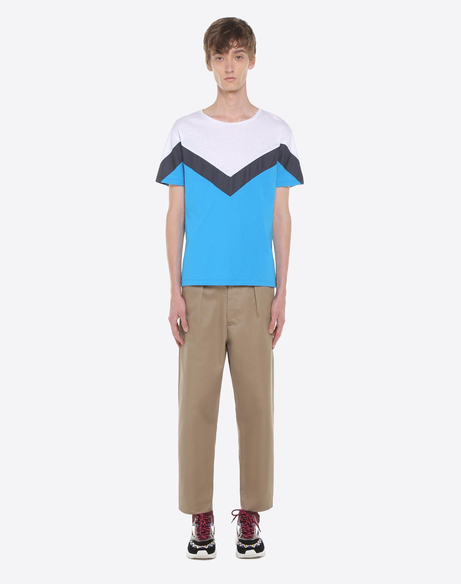 VALENTINO UOMO Camiseta con motivo geométrico Camiseta U r