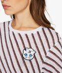 KARL LAGERFELD Captain Karl Striped Linen Tee 8_e