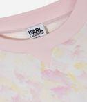 KARL LAGERFELD Pink brush tee 8_d