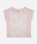 T-shirt rose poudre