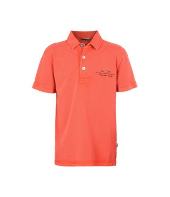 NAPAPIJRI K ELBAS JUNIOR KID SHORT SLEEVE POLO,RED