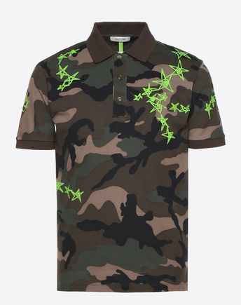 VALENTINO Polo U Valentino cotton polo f