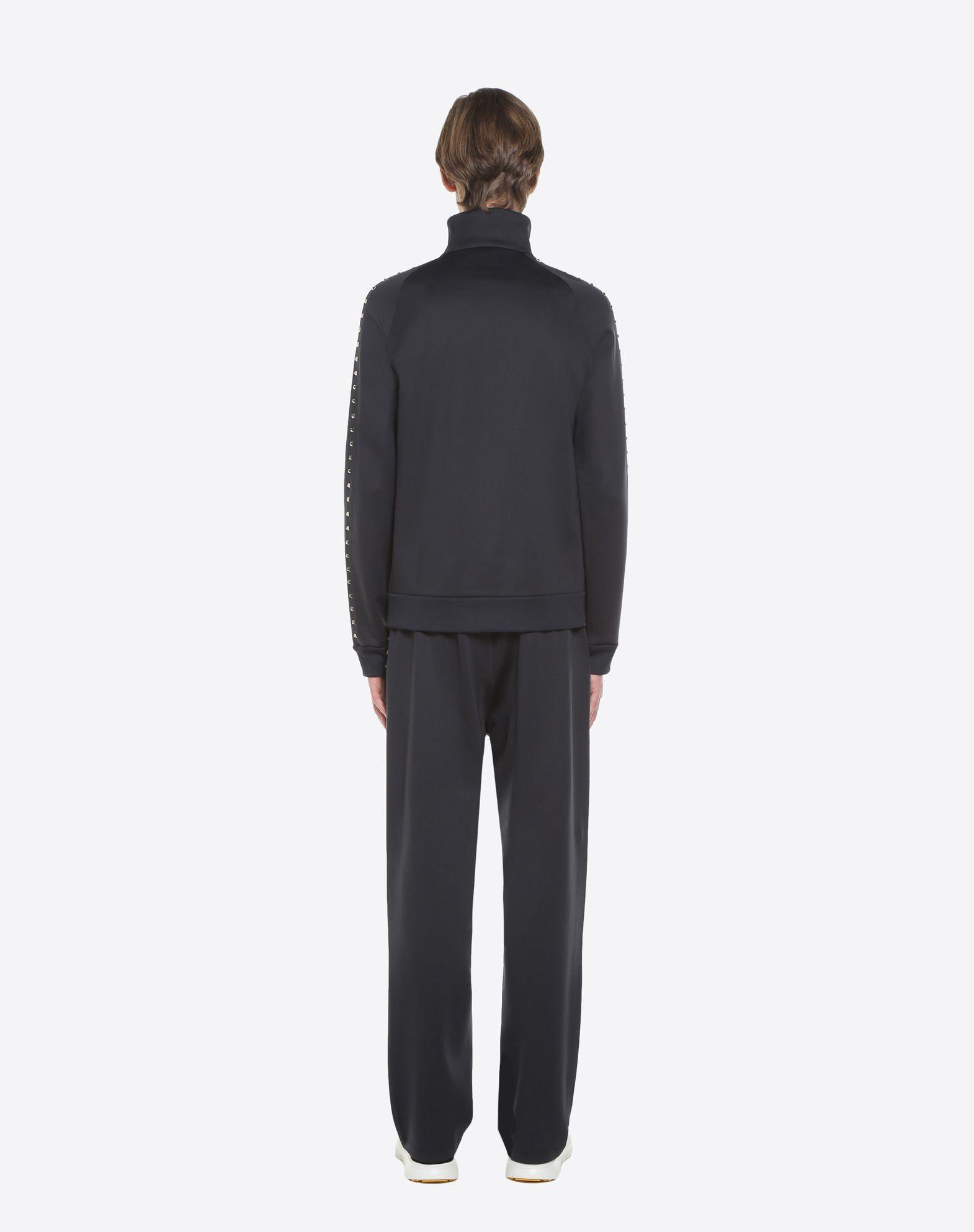 VALENTINO Rockstud Untitled zipped sweatshirt Sweatshirt U e
